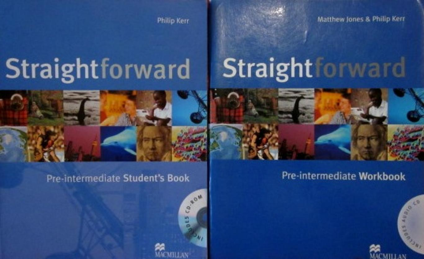 Straightforward Pre-Intermediate: Student's Book. Workbook with CD-ROM, Matthew Jones, Philip Kerr