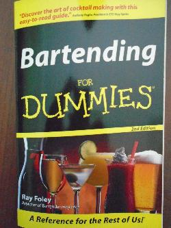 Bartending for Dummies, Ray Foley