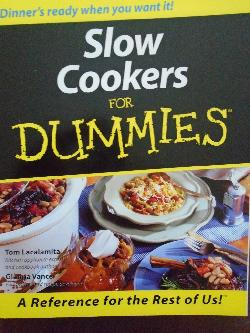 Slow Cookers For Dummies,
