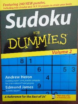 Sudoku for Dummies, Andrew Heron, Edmund James