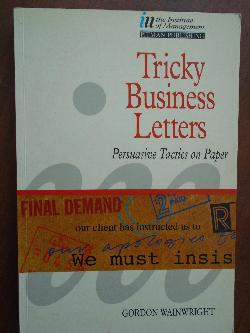 Tricky Business Letters, G. Wainwright