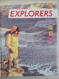 My reference library.Explorers, Julie Brown,Robert Brown