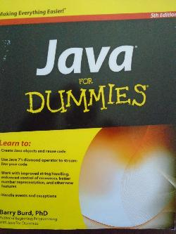Java For Dummies,