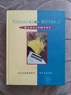 Purchasing and Materials Management, Michiel R. Leenders, Harold E. Fearon, PhD