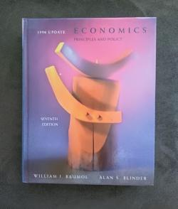 Economics Principles and Policy, William J. Baumol, Alan S. Blinder