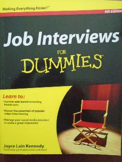 Job Interviews For Dummies,