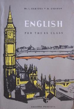 English for the 9. class , L. Sarieva, M. Sirakov