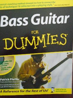 Bass Guitar For Dummies + CD, Patrick Pfeiffer