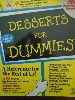 Desserts for Dummies, Bill Yosses, Alison Yates