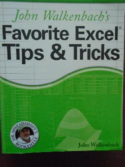 John Walkenbach's Favorite Excel Tips and Tricks, John Walkenbach