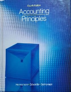 Accounting principles, Roger H. Hermanson, James Don Edwards, R. F. Salmonson