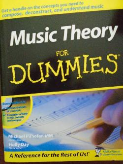 Music Theory For Dummies, with Audio CD-ROM, Michael Pilhofer, Holly Day
