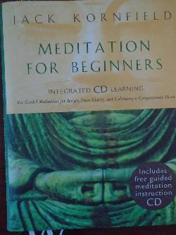Meditation for Beginners + CD, Jack Kornfield