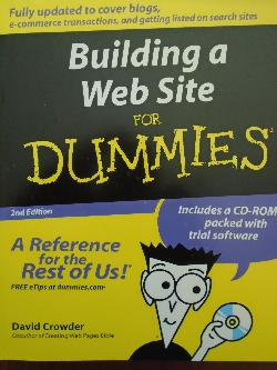 Building a web site for Dummies, David Crowder
