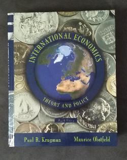International Economics Theory and Policy, Paul Krugman, Maurice Obstfeld