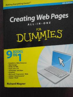 Creating Web Pages All-in-One For Dummies 4th Edition, Richard Wagner