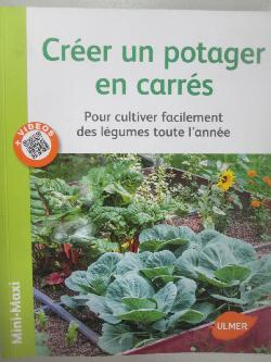 Creer un potager en carres,