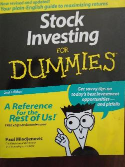 Stock Investing for Dummies,