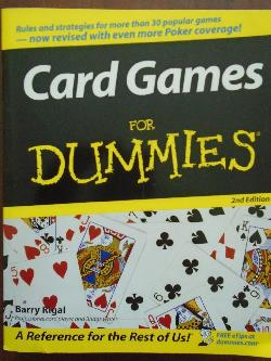 Card Games For Dummies, Barry Rigal