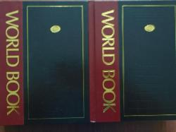 World Book Dictionary Two Volume Set,