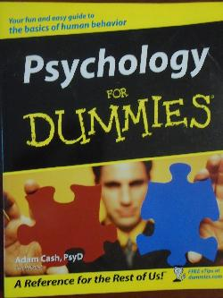 Psychology for Dummies, Adam Cash