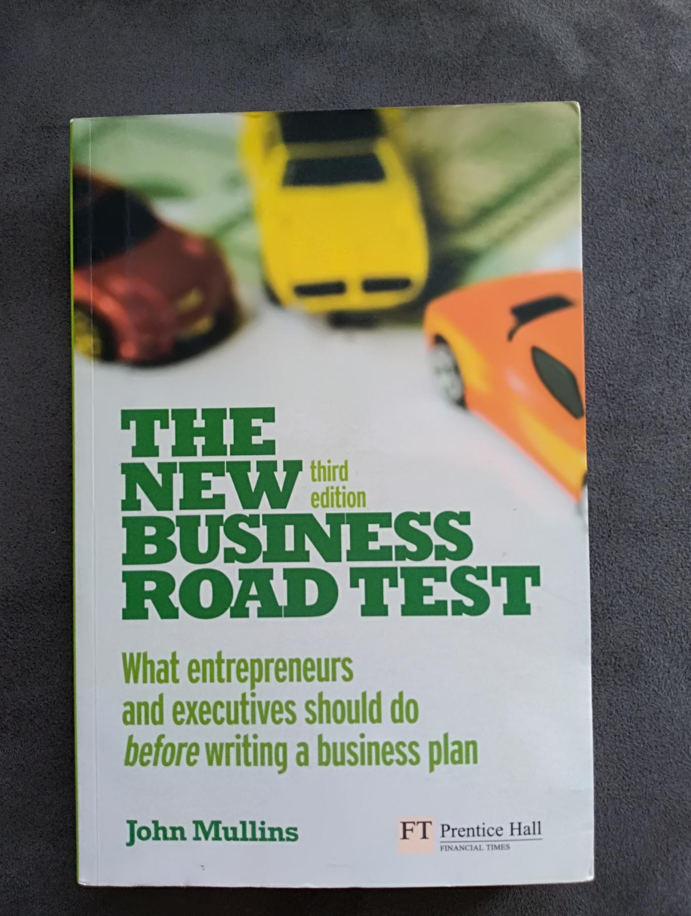 The New Business Road Test, John Mullins