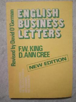 English business letters, F.W.King  D.Ann Cree