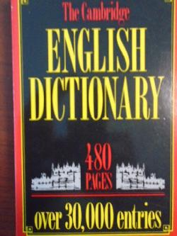 The Cambridge English Dictionary,