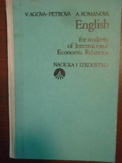 English for students of international economic relations,