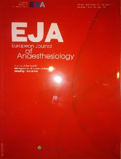 European Journal of Anaesthesiology.(EJA). Volume 34, Number 6, June 2017, Колектив
