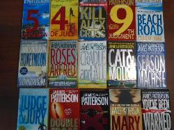 Books By James Patterson - 30 бр.,