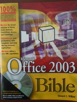 Microsoft Office 2003 Bible + CD,
