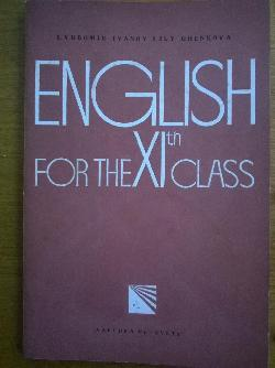 English for the 11.class, Lybomir Ivanov,Lili Ghenkova