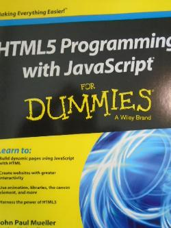 HTML5 Programming with JavaScript,