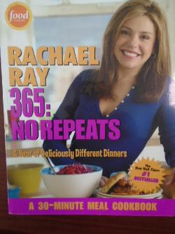 365: No Repeats--A Year of Deliciously Different Dinners , Rachael Ray
